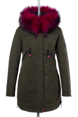05-1538 Куртка зимняя (Синтепон 300) Плащевка Хаки