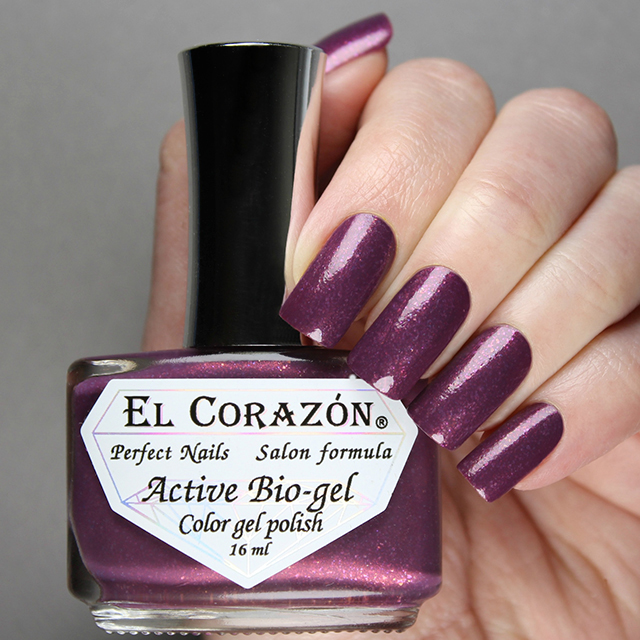 "EL Corazon® Active Bio-gel Color gel polish ""Volcanic haze"" №423/1121"