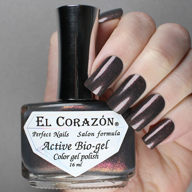 "EL Corazon® Active Bio-gel Color gel polish ""Volcanic haze\"" №423/1123"