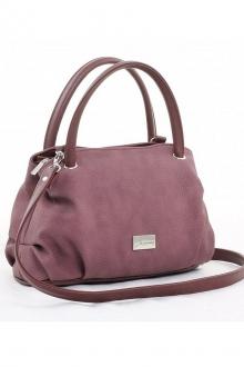 Мягкая сумка бордового цвета