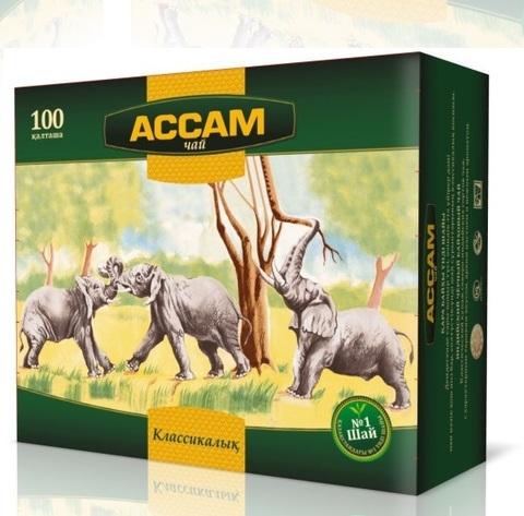 Чай Assam 100 пак. *1,8 г. (кор*9)