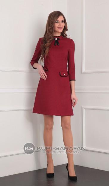 Платье Rishelie 634 красный
