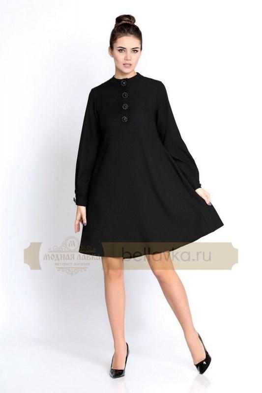Платье Pirs 266 черное