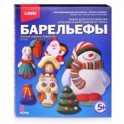 Набор д/отливки барельефов Ёлочные игрушки.Новый год