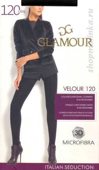 Колготки теплые Glamour Velour 120