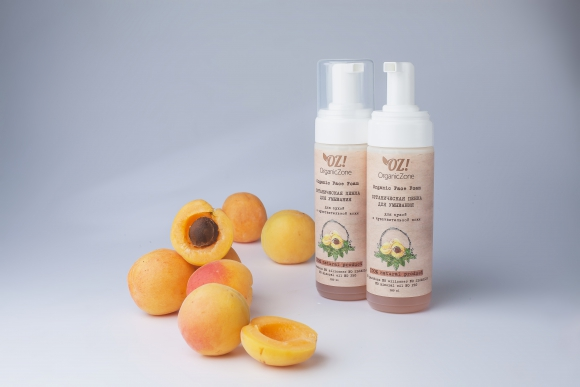 OZ! OrganicZone Пенка для умывания, для сухой и чувствительной кожи лица, шт