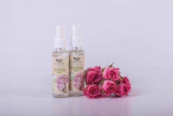 """OrganicZone Цветочная вода \""""Розы\"""", шт"""
