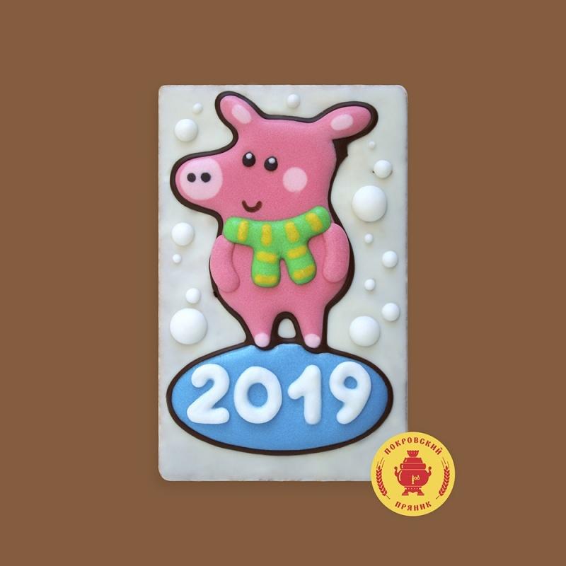 Свинка 2019 (130 грамм) будет представлен в ассортименте