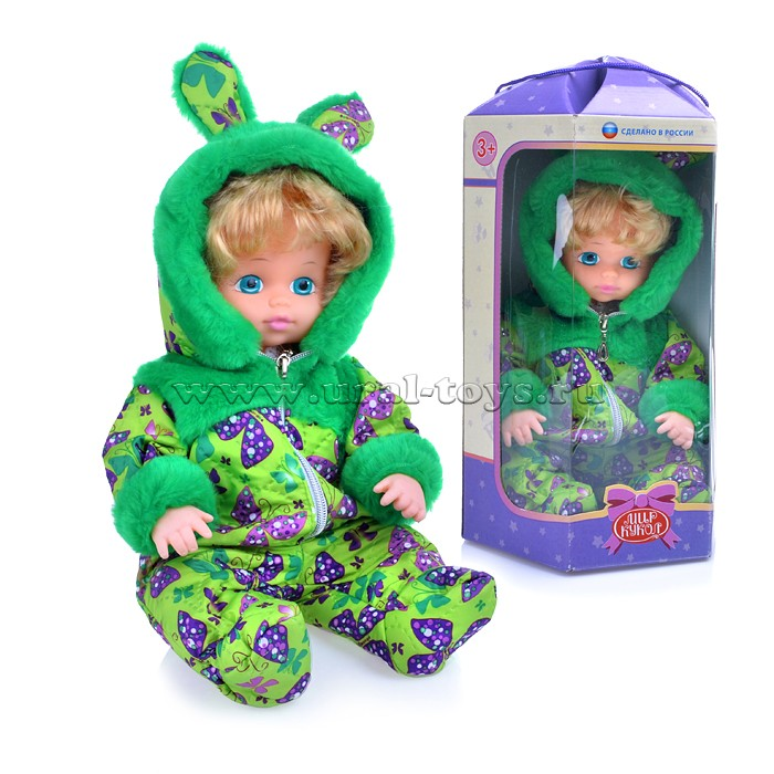 Кукла Варенька ползунок, озвуч., в коробке