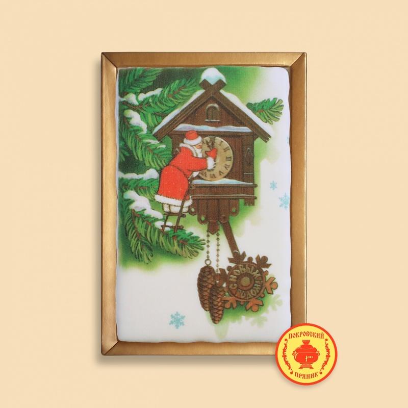 Дед мороз и часы (с Новым годом) 160 грамм