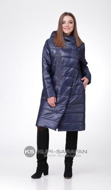пальто MALI 504 СИНИЙ