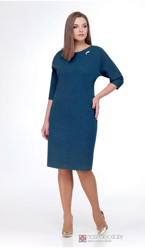 Платье Mishel Style 543 морская волна