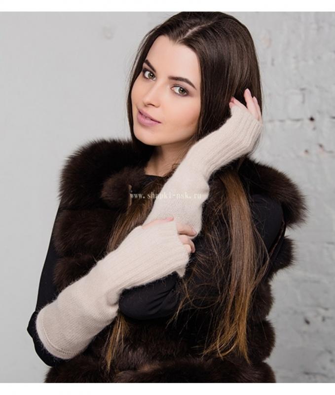 Scarlet Митенки  Gulyann Knitwear