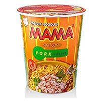 Лапша быстрого приготовления со вкусом свинины от MАМА в стаканчике 42 г