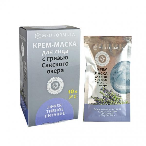 Крем-маска «Эффективное питание» для сухой кожи