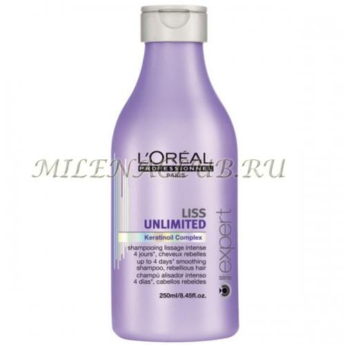 L`Oreal Шампунь для непослушных волос Liss Unlimited 250 мл