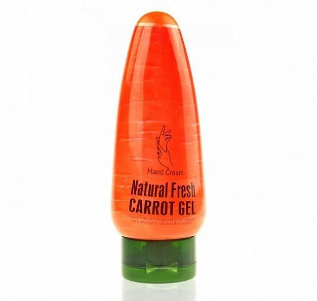 Крем для рук морковь