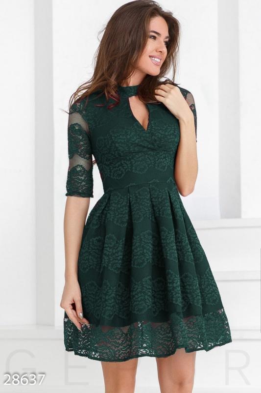 Гипюровое женское платье Подробнее: https://gepur.ru/product/plate-28637