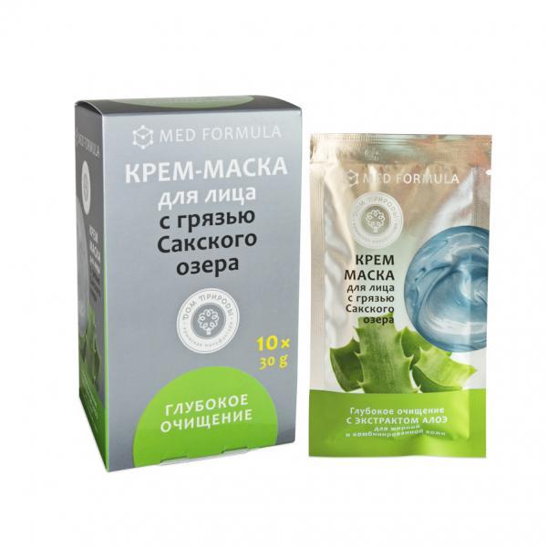 Крем-маска «Глубокое очищение» для жирной и комбинированной кожи