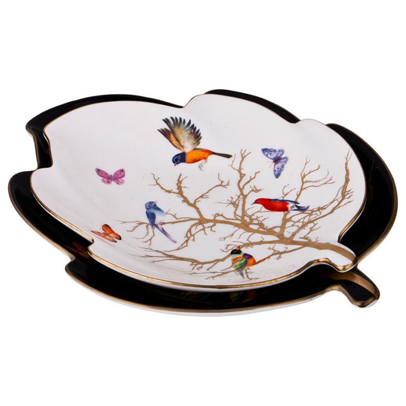 """Набор блюд Lefard 264-872 \""""райская птица\"""" из 2 шт."""