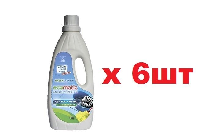 Ecomatic Универсальное чистящее средство для генеральных уборок 1л 6шт