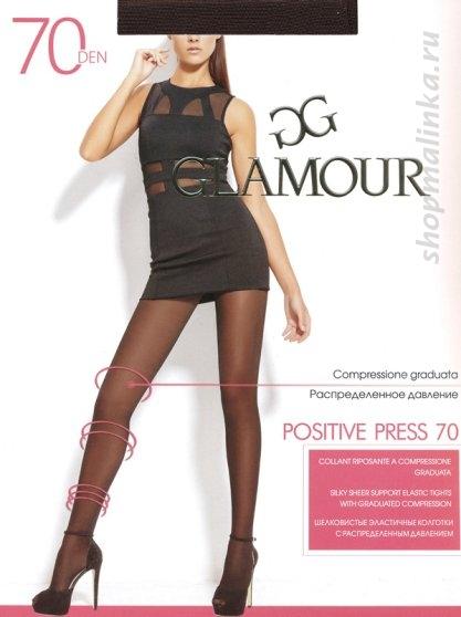 Колготки классические Glamour Positive Press 70