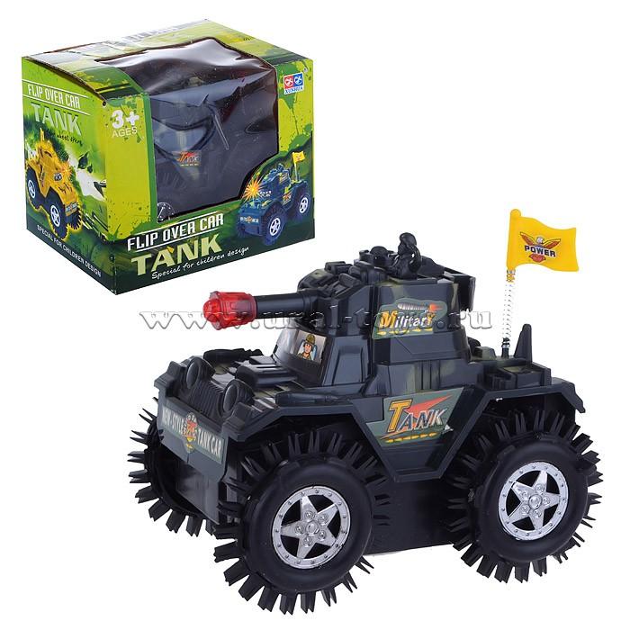 "Машина V-133 ""Танк"" на батарейках, в коробке"
