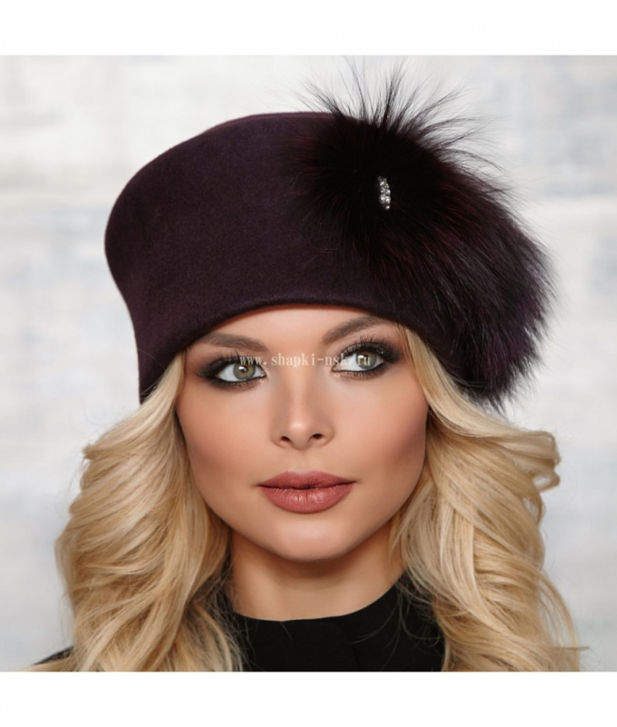 Любаша шерсть Шляпа