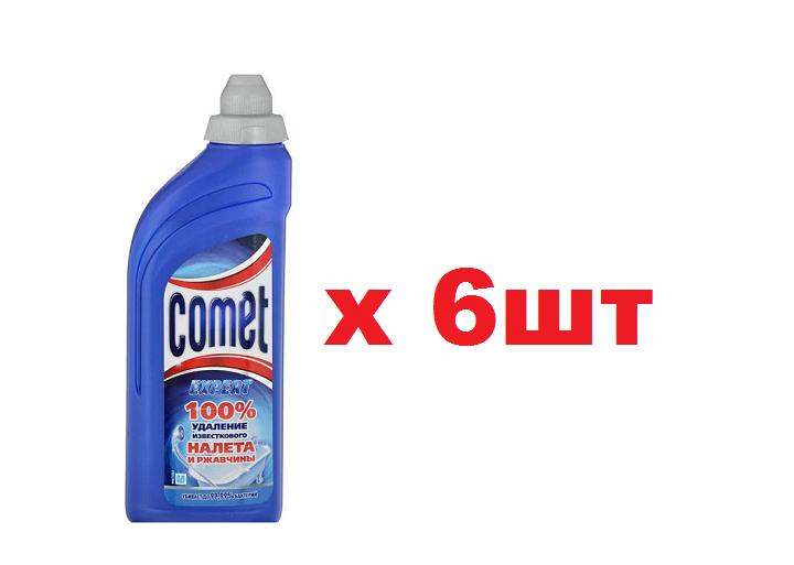 COMET ГЕЛЬ ЧИСТЯЩИЙ 500МЛ ДЛЯ ВАННОЙ КОМНАТЫ 6ШТ