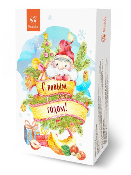 Фундук и тайская дыня, картонная упаковка 115 г. Новый год