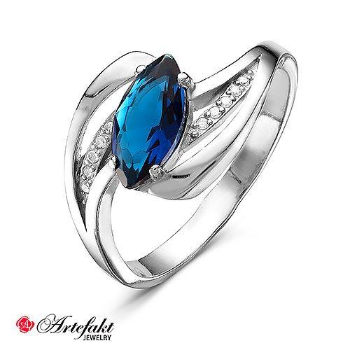 Серебряное кольцо 468