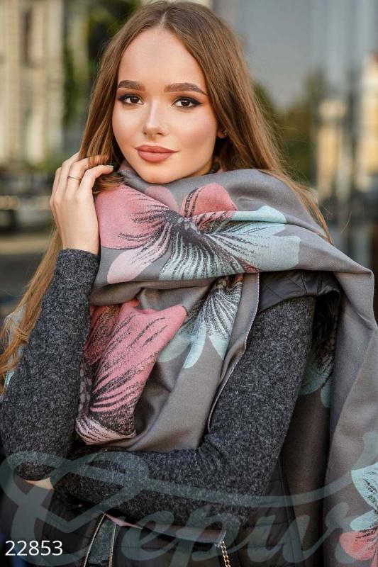Двухсторонний шарф-палантин