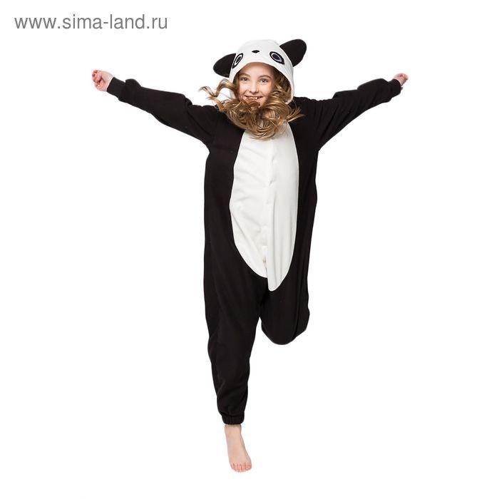"Комбинезон-кигуруми детский \""Панда\"", размер 104 см"