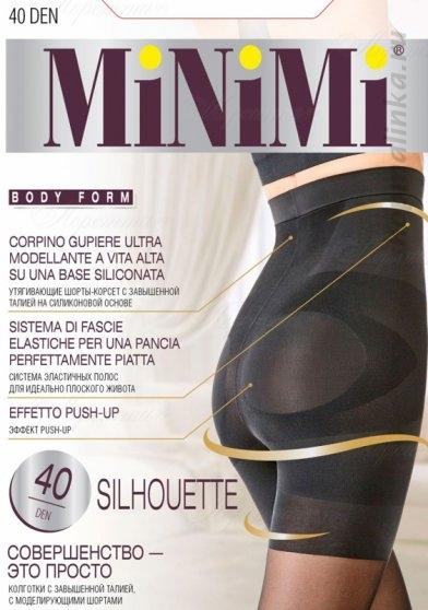 Колготки корректирующие Minimi Silhouette 40-140