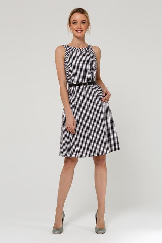 Платье с ремнем 7588