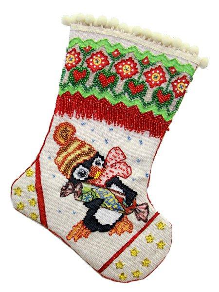 Набор для шитья и вышивания носочек арт.МП-19х30 - 8203 Подарок