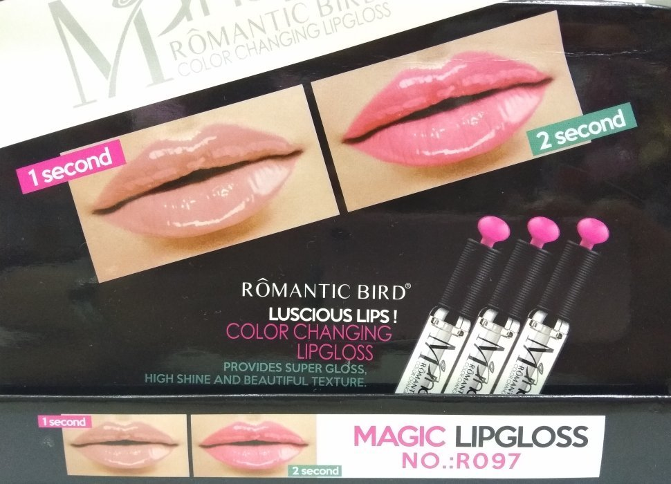 Проявляющийся блеск для губ ROMANTIC BIRD
