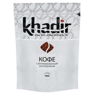 Кофе растворимый сублимированный Khadir 140 г