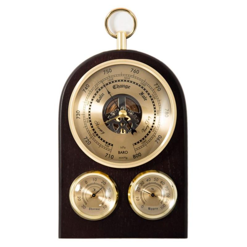 Метеостанция: барометр, термометр, гигрометр 19см 28302