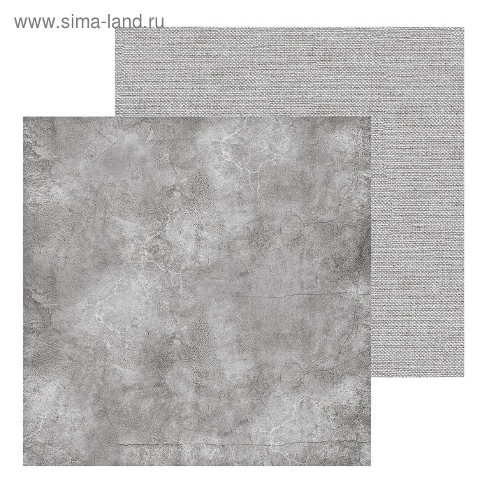 Фотофон двусторонний «Холст-бетон», 45 х 45 см, картон 100 г/м