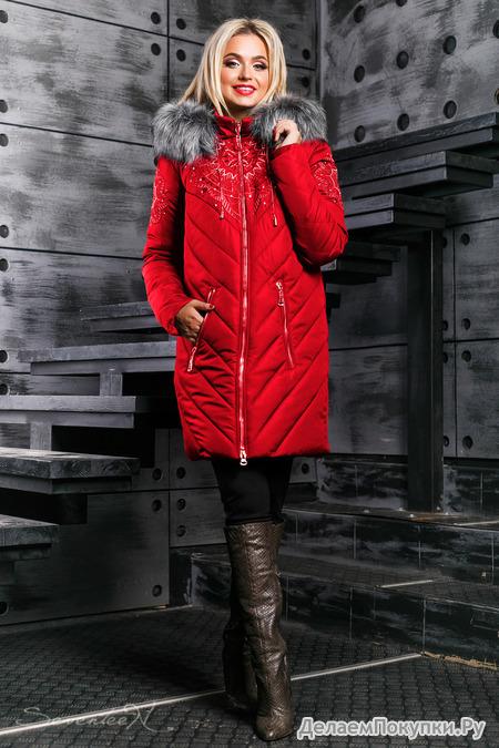 Куртка зима 885.2348 от Seventeen