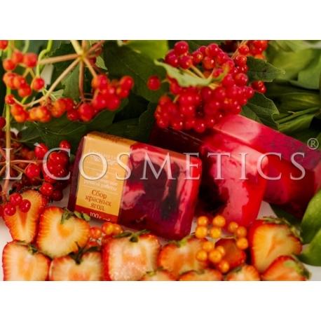 Мыло фасованное Сбор красных ягод, 1 шт (Артикул  ЛК0208)