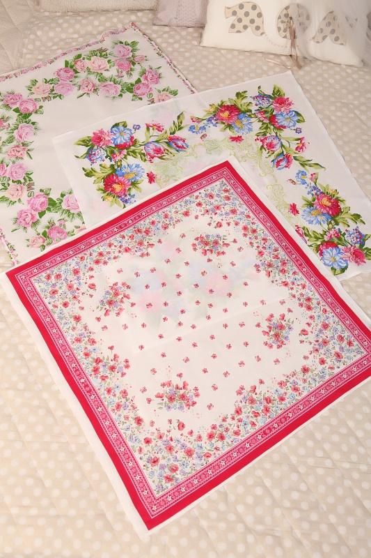 Головной платок (набор 3 шт)