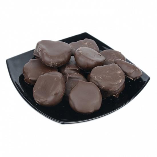 Инжир в темной шоколадной глазури с грецким орехом 1 кг