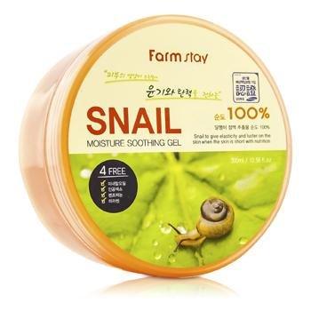 """270064 MYUNGIN COSMETICS \""""Soothing Gel Snail\"""" Многофункциональный смягчающий гель с муцином улитки, 300 г"""