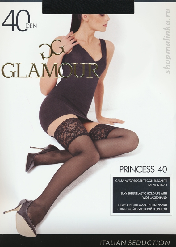 Чулки классические Glamour Princess 40 aut