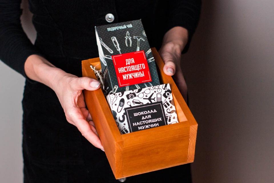 Подарок в ящике #1 Для настоящих мужчин