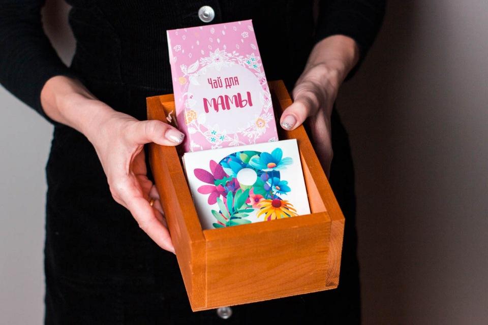Подарок в ящике #6 Для Мамы