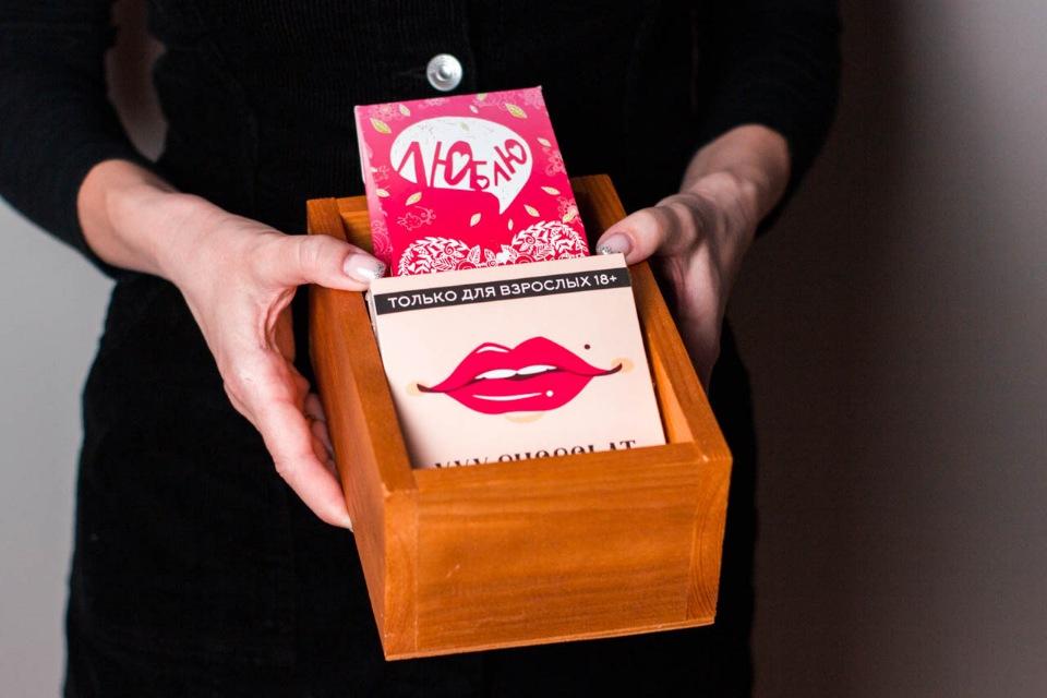 Подарок в ящике #11 XXX