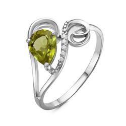 Серебряное кольцо с султанитом - 710